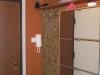 Kárpitozott betétes bútorlap előszoba fal