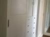 Festett gardrób szekrény két szélén toló ajtóval